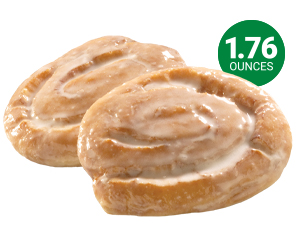 Glazed Honey Buns - 1.76 oz